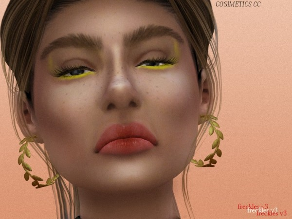 The Sims Resource: Freckles V3 by cosimetics