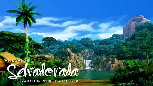Simsational designs: Welcome To Selvadorada   Vacation World Makeover