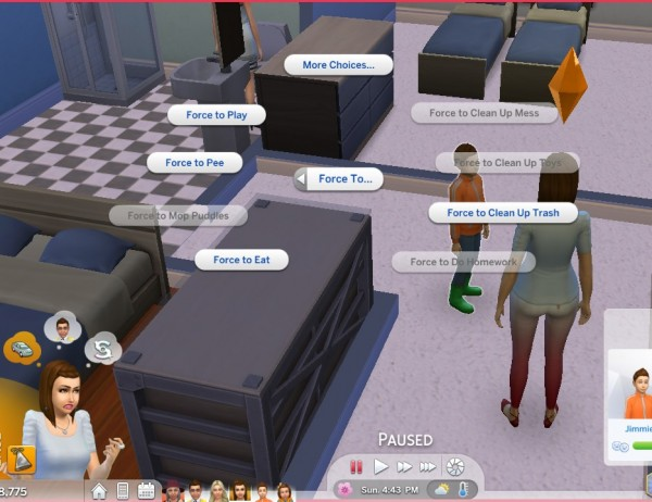 Mod The Sims: Parenting interactions  by Vmars