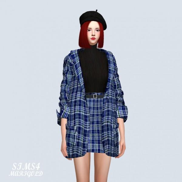 SIMS4 Marigold: Three piece Suit