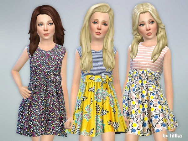 The Sims Resource: Designer Dresses Collection P112 by lillka