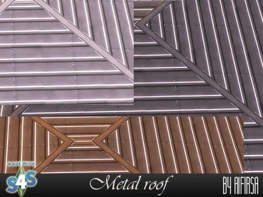 Aifirsa Sims: Metal roof