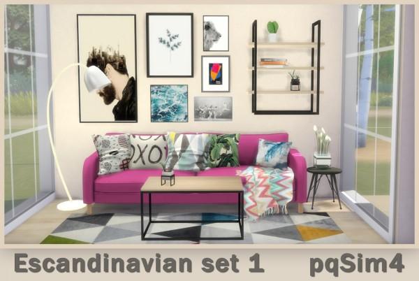 PQSims4: Scandinavian Set 1