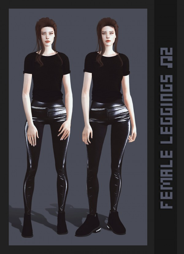 Magic Bot: Female leggings 2