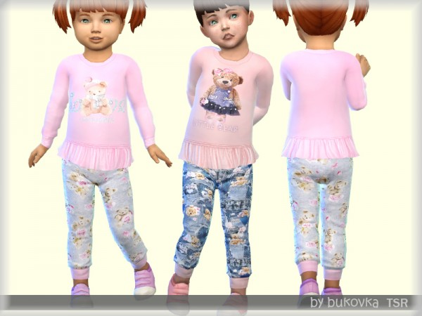 The Sims Resource: Set Little Bear by bukovka