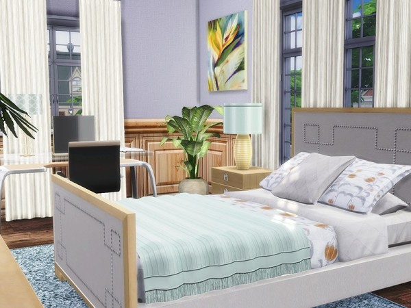 The Sims Resource: Traditional Townhouse by MychQQQ