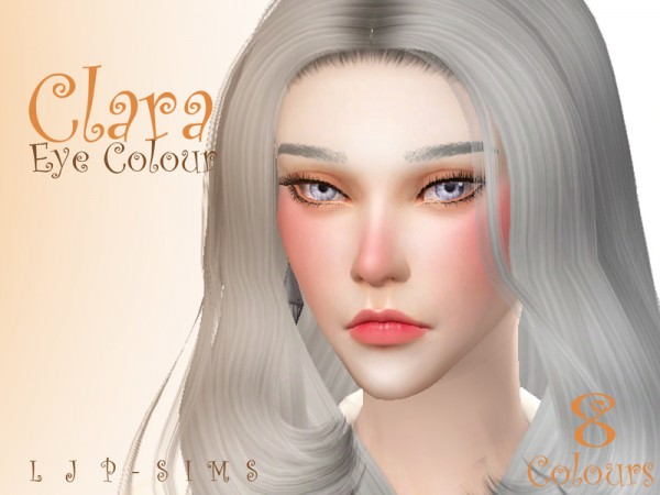 The Sims Resource: Clara Eye Colour by LJP Sims