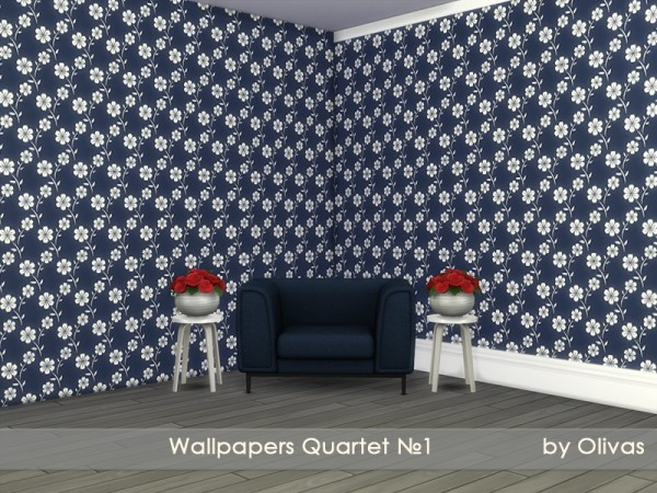 The Sims Resource: Wallpapers Quartet N1 by olivas
