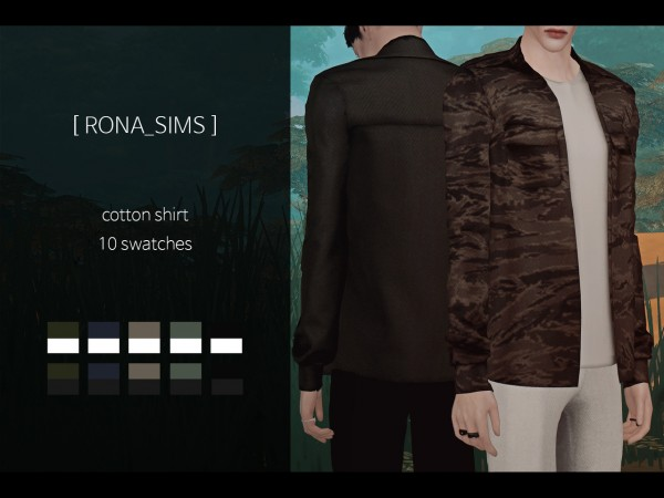 Rona Sims: Cotton shirt