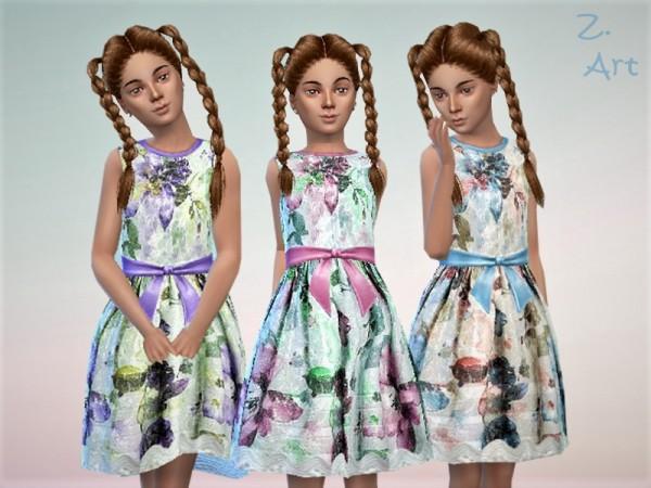 The Sims Resource: GirlZ. 15 dress by Zuckerschnute20