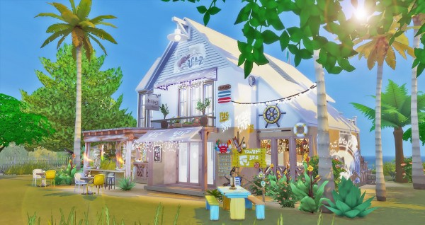 Ruby`s Home Design: The Seafood Bar   No CC