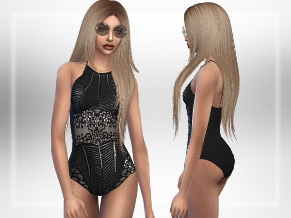 The Sims Resource: Luxurious Swimsuit by Puresim