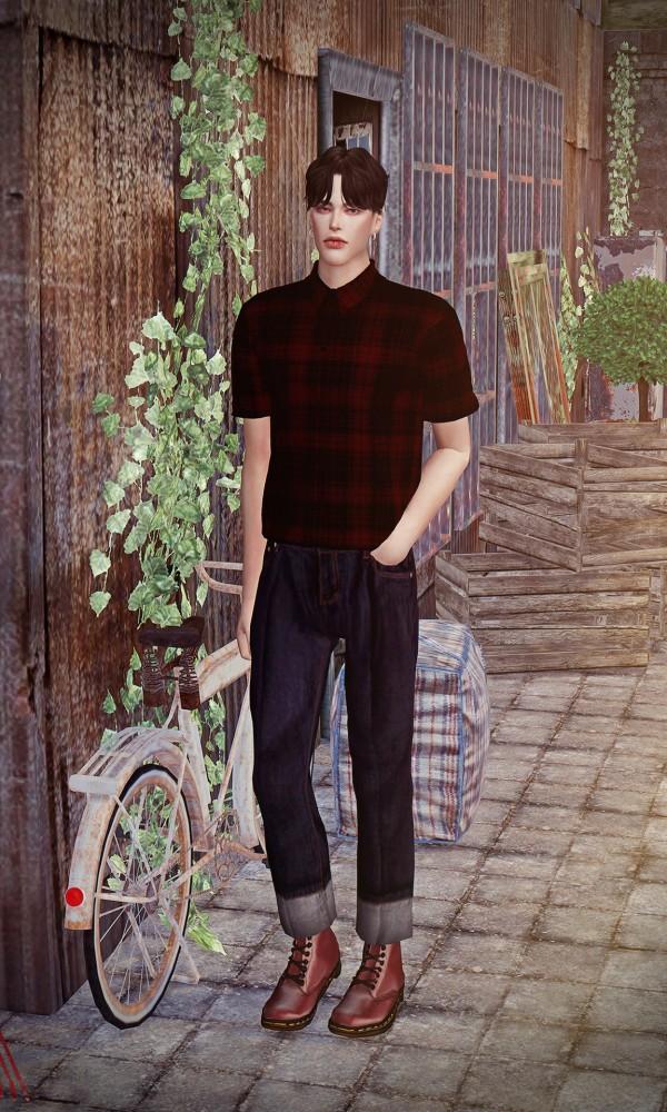 Rona Sims: Short sleeves shirt