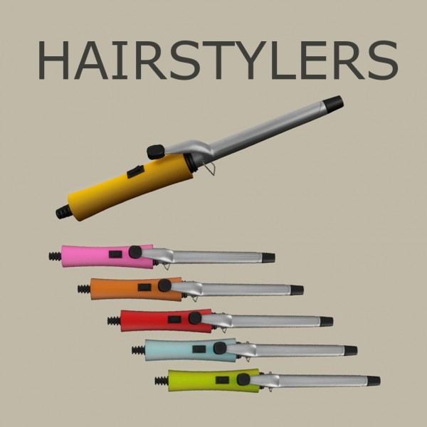 Leo 4 Sims: Decor Hairstylers