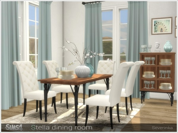 The Sims Resource: Stella diningroom by Severinka