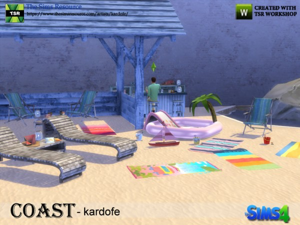 The Sims Resource: Coast outdoor by Kardofe