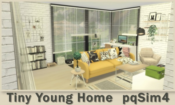 PQSims4: Tiny Young Home