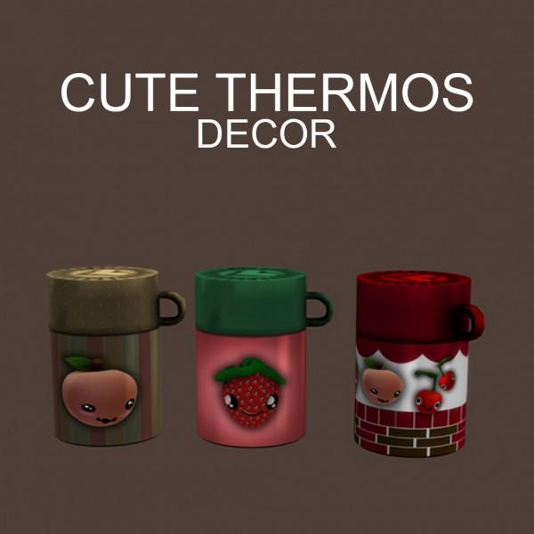 Leo 4 Sims: Decor Thermos