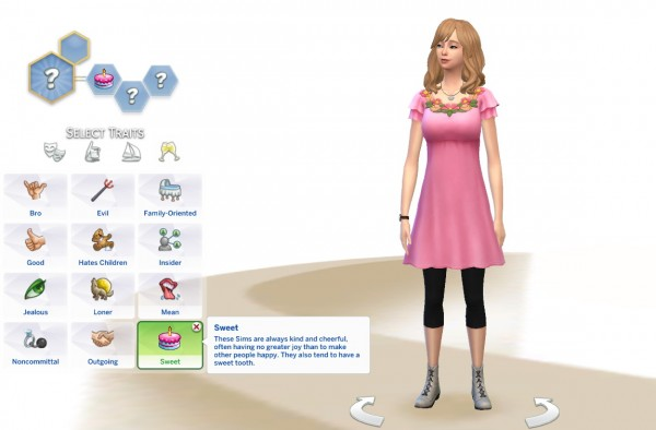 Mod The Sims: Sweet Trait by CatMuto