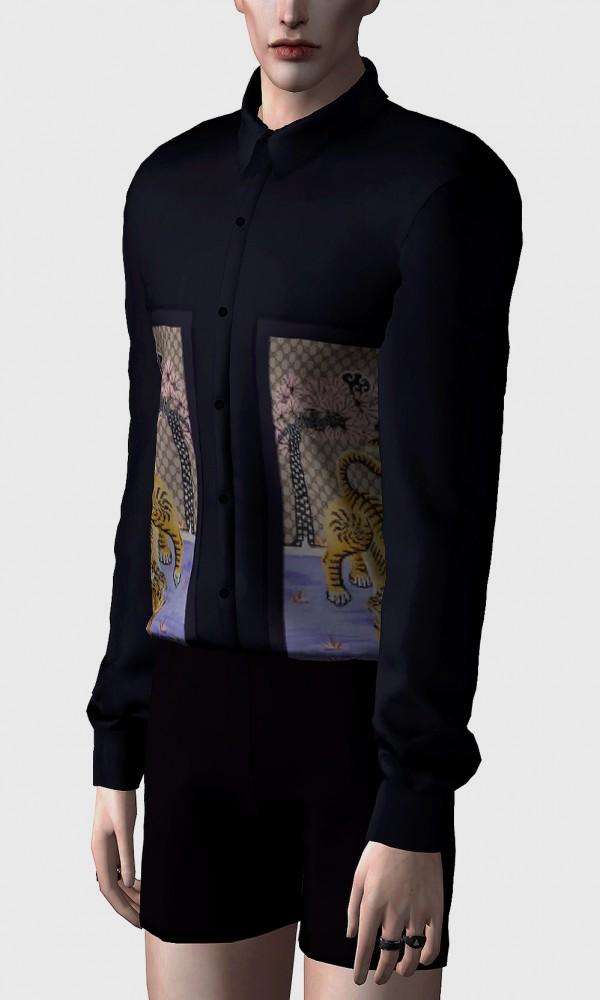 Rona Sims: Pattern silk shirts