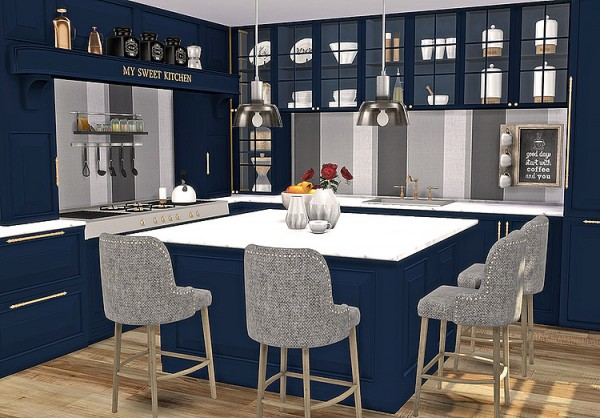 Blooming Rosy: Juglans Kitchen Recolor