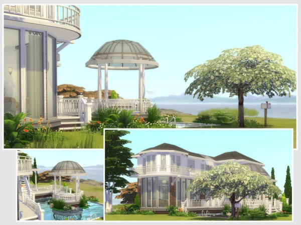 The Sims Resource: Villa Louise (No CC) by philo