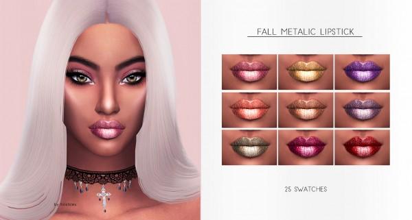 Frost Sims 4: Fall Metallic Lipstick