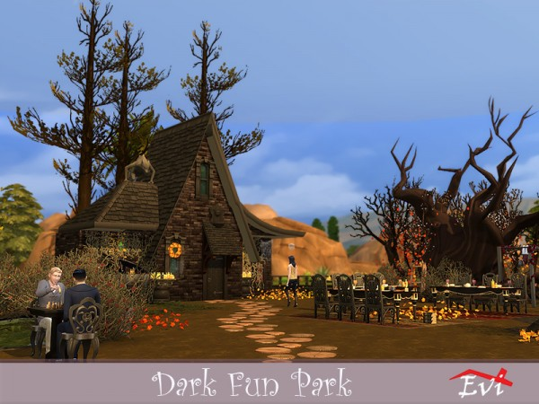 The Sims Resource: Dark Fun Park by evi