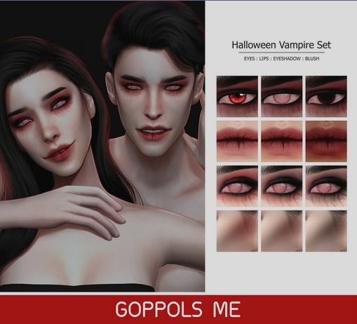 GOPPOLS Me: Halloween Vampire Set