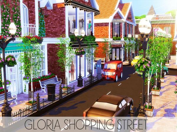 MSQ Sims: Gloria Shopping Street (NO CC)