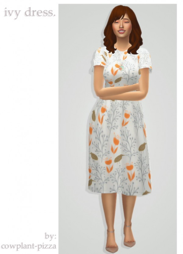 Cowplant Pizza: Ivy dress