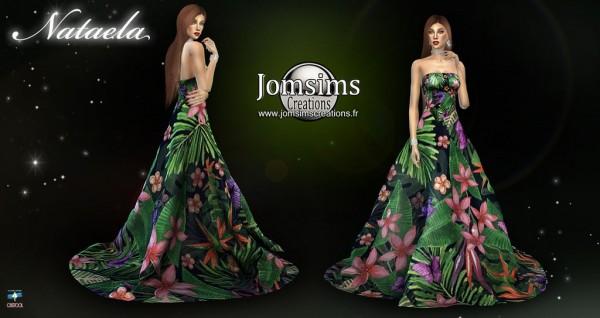 Jom Sims Creations: Nataela dress