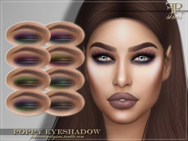 The Sims Resource: Poppy Eyeshadow by FashionRoyaltySims