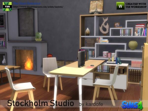 The Sims Resource: Stockholm Studio by kardofe