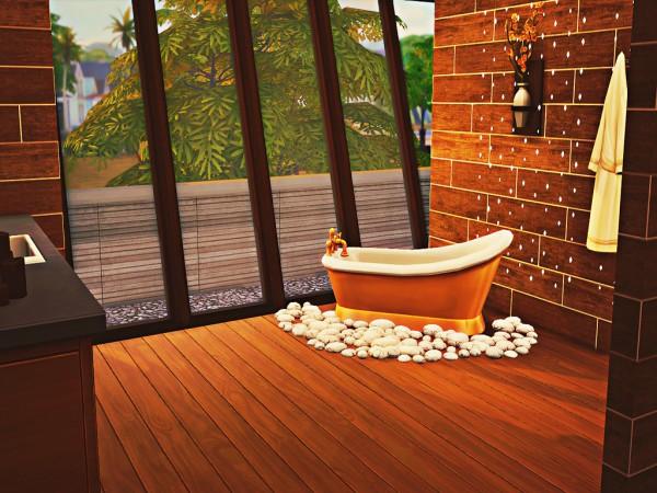 MSQ Sims: Autumn Modern House