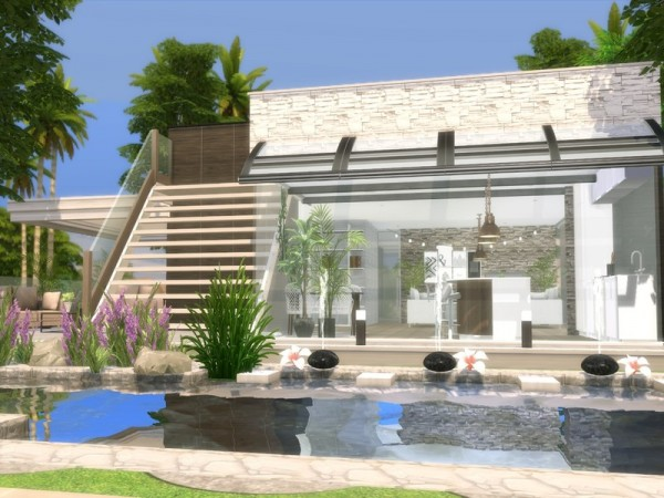 The Sims Resource: Modern Alina house by Suzz86