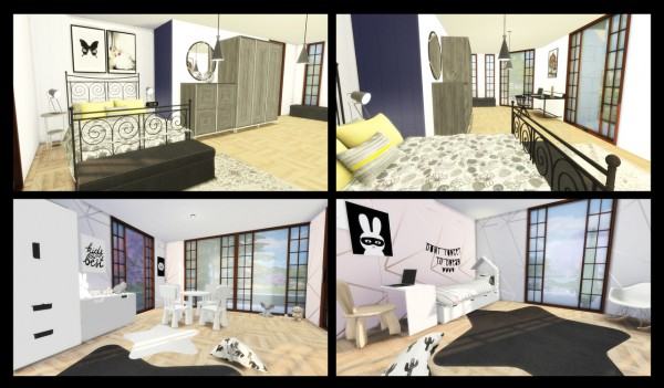 Simming With Mary: Two Bedroom House