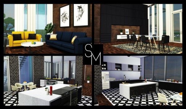 Simming With Mary: 1 Torendi Tower Penthouse