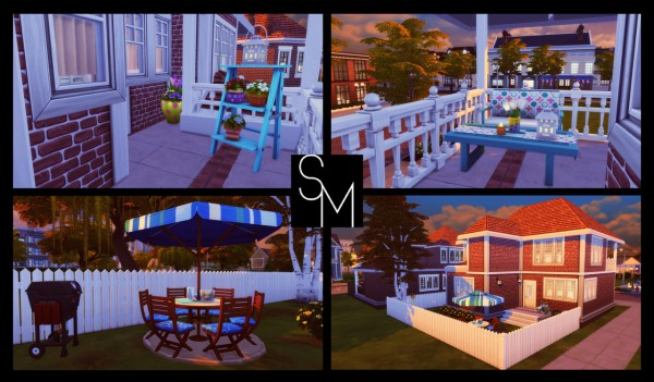 Simming With Mary: Oak Alcove
