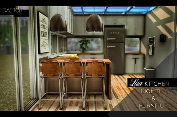 Blooming Rosy: Lisa Kitchen Lighting and Furniture