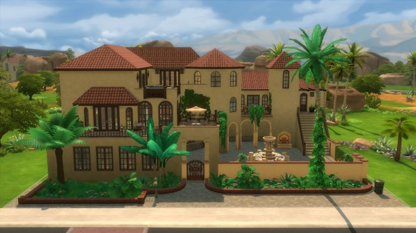 Mod The Sims: East House No CC by aramartir P