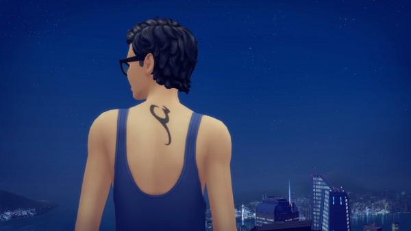 Mod The Sims: Shadowhunter Rune Tattoos by Knivanera