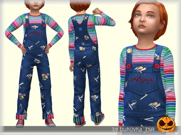 The Sims Resource: Jumpsuit Chucky by bukovka