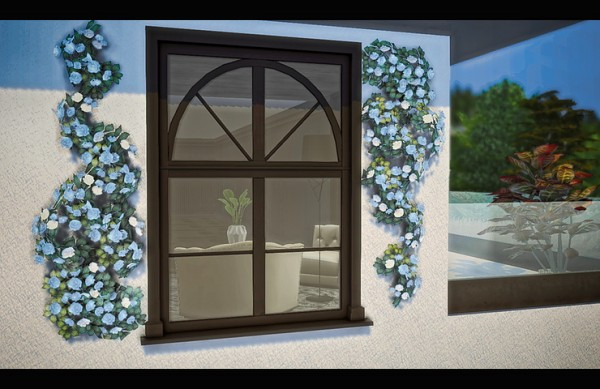 Blooming Rosy: Conservatory Windows