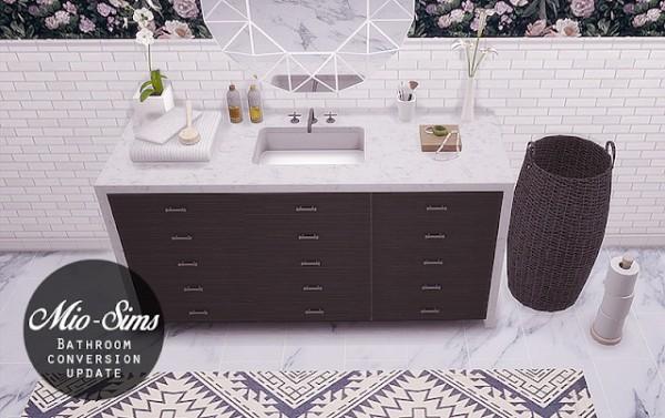 Mio Sims: Bathroom converted