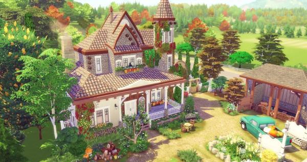 Studio Sims Creation: Butternut house