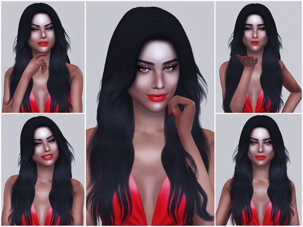 The Sims Resource: Portrait Poses part 2 by KatVerseCC