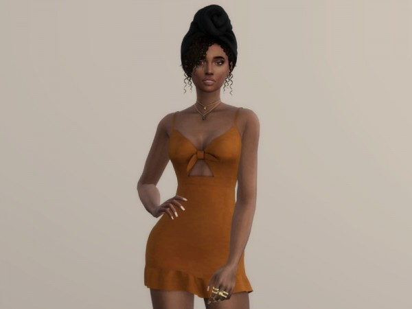 The Sims Resource: Emotion Dress by Christopher067