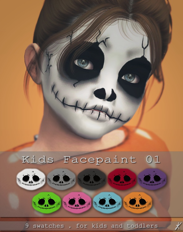 Quirky Kyimu: Face Paint 01