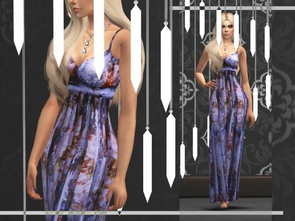 The Sims Resource: Lorelei dress by sugar owl